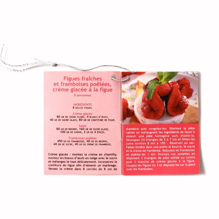 Mini-booklet of four fig recipes