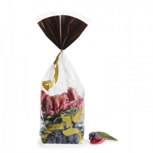 Crystallized flowers assortment sachet