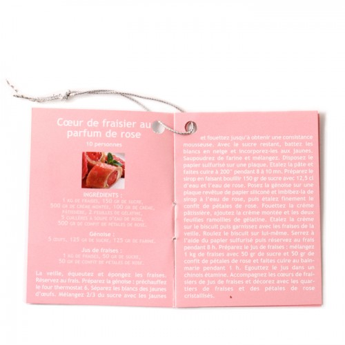 Mini book of 4 rose recipes