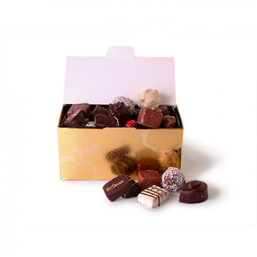 Luxury chocolate assortment giftbox