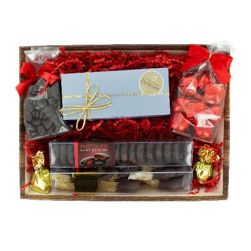 Christmas flavours gourmet basket
