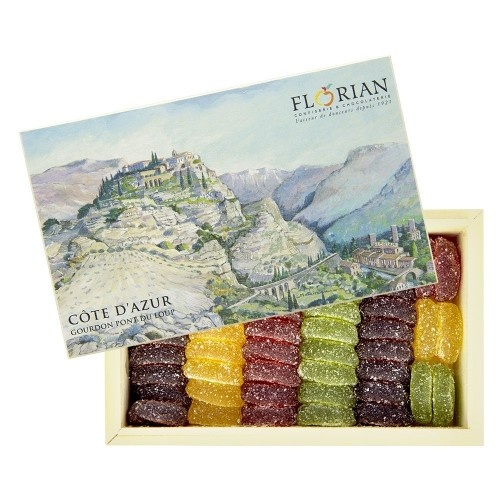 Coffret Gourdon - Pâtes de fruits