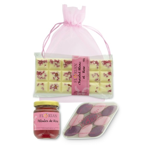 A great gift idea for Mothers' day: our trilogy of rose petal delights