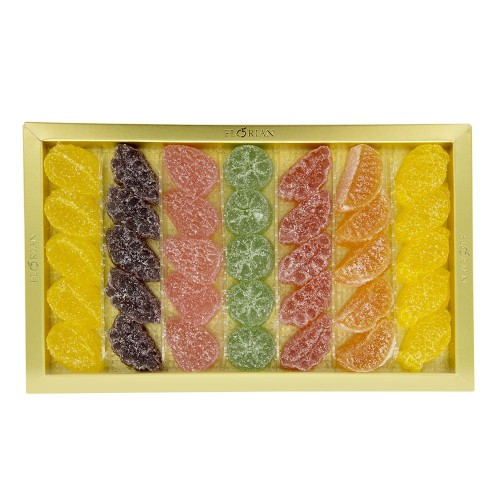 Fruit jellies assortment giftbox