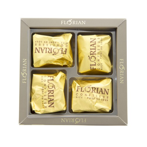 Candied chestnuts - 4 piece giftbox