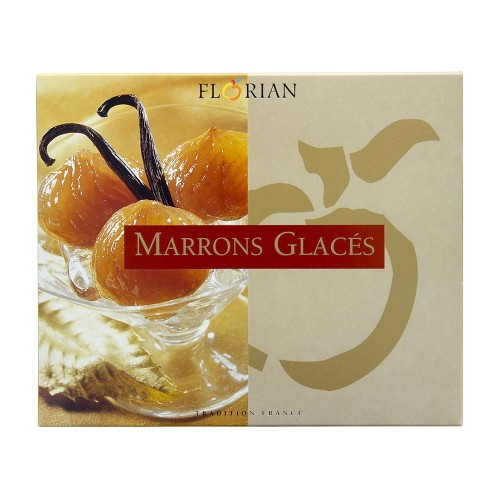 Coffret de 8 marrons glacés
