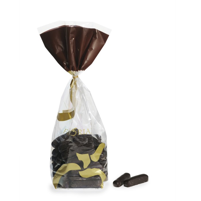 Chocolate-coated candied ginger - 250g bag