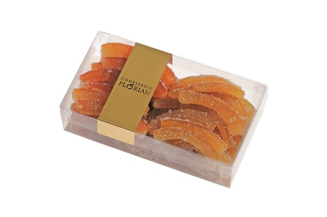 Sugar-coated orange and lemon peels - 250g box