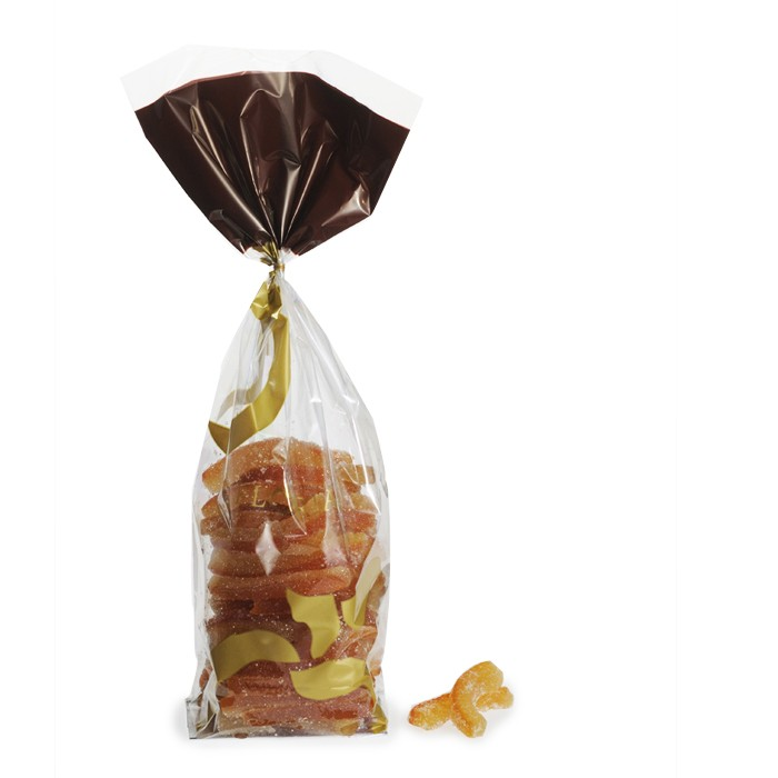 Sugar-coated orange peels - 500g sachet