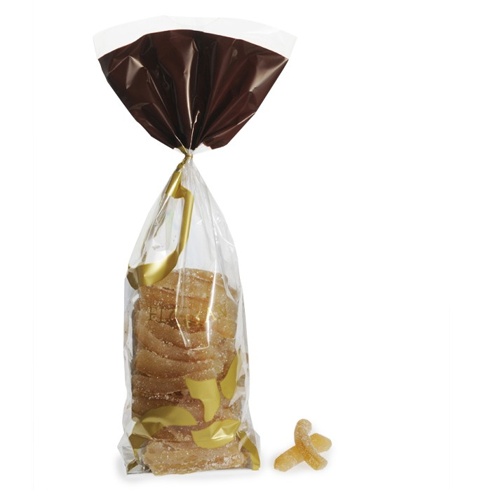 Sugar-coated lemon peels - 500g sachet