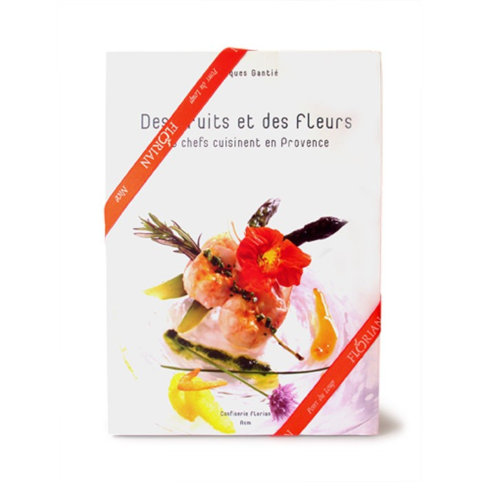 "Recipe book in french ""Des fruits et des fleurs"""