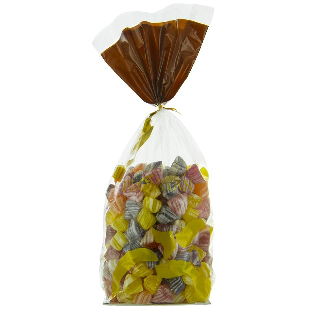 Fruit and flowers humbugs - 1kg sachet