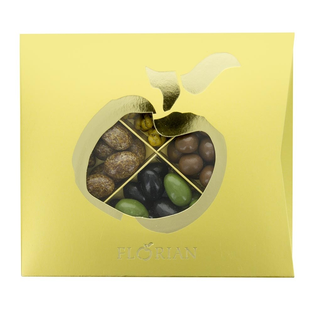 4 chocolate delights gift box by Confiserie Florian