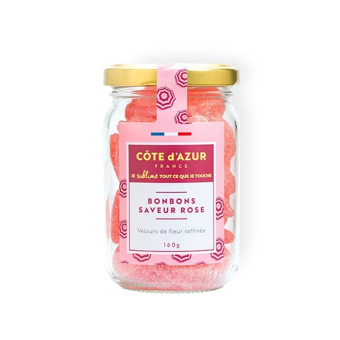 Rose flavoured sweets150 gr jar