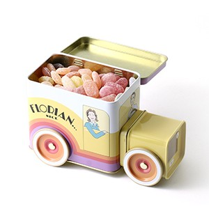Florian sweet box with boiled sweets and toffees