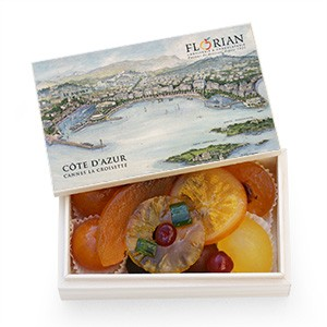 Coffret Cannes - Fruits confits assortis