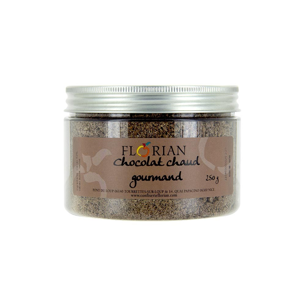 Gourmet hot chocolate by Confiserie Florian