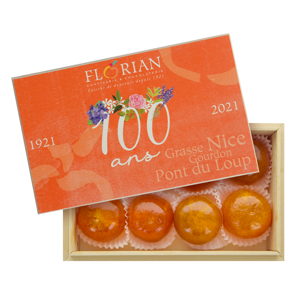Anniversary candied clementines limited edition giftbox