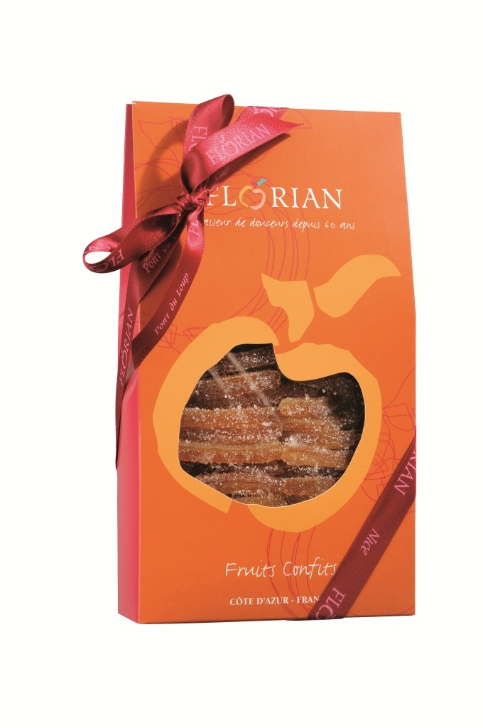 Sugar-coated orange peels - 280g giftbox