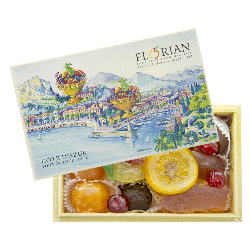Côte d'Azur candied fruit gift box