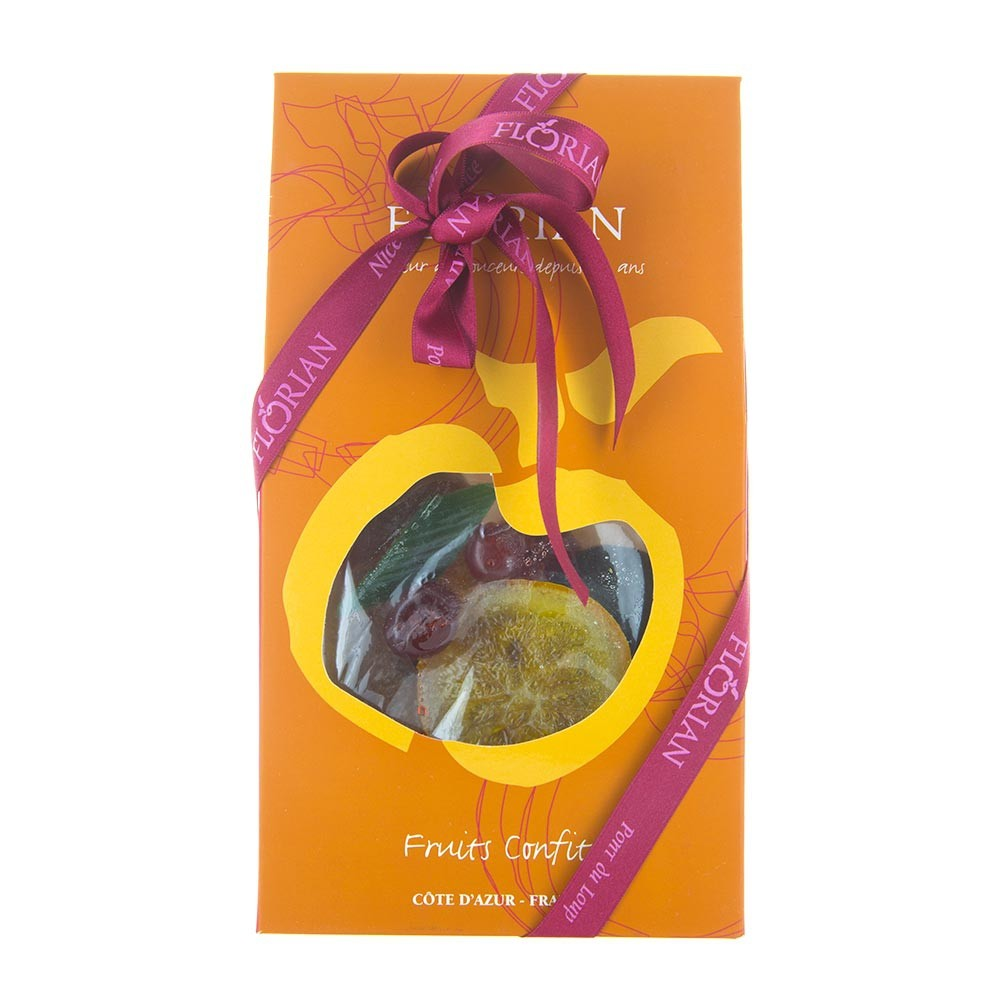Assorted candied fruit gift box
