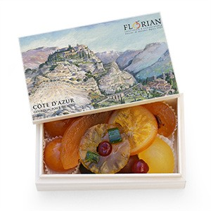Gourdon Assorted candied fruit giftbox