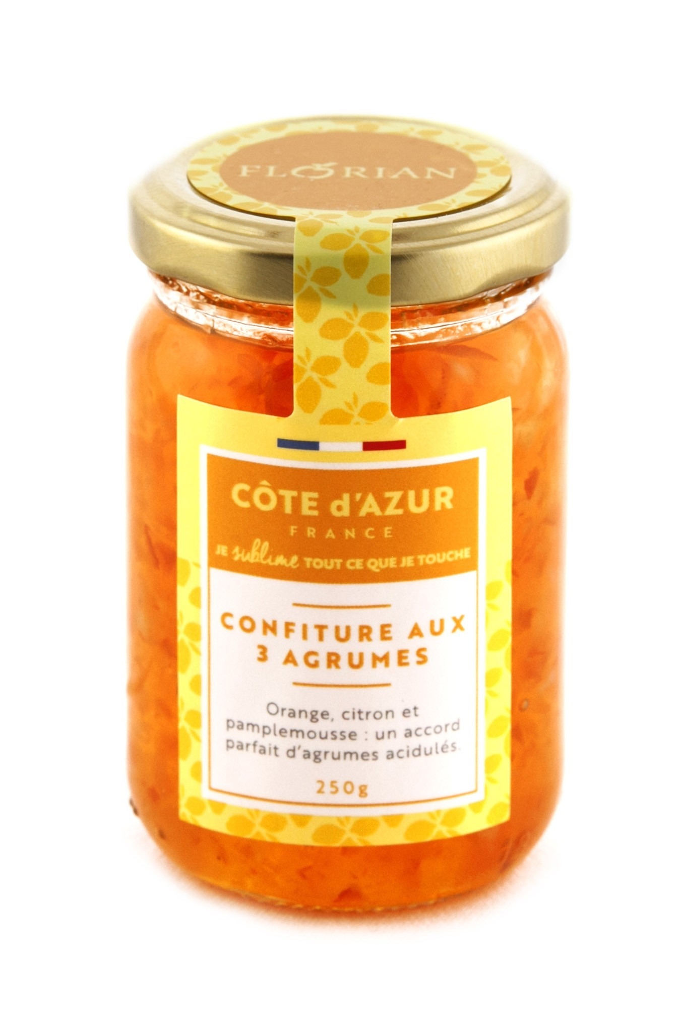 Traditional citrus preserve, lemon, orange and grapefruit 250 gr