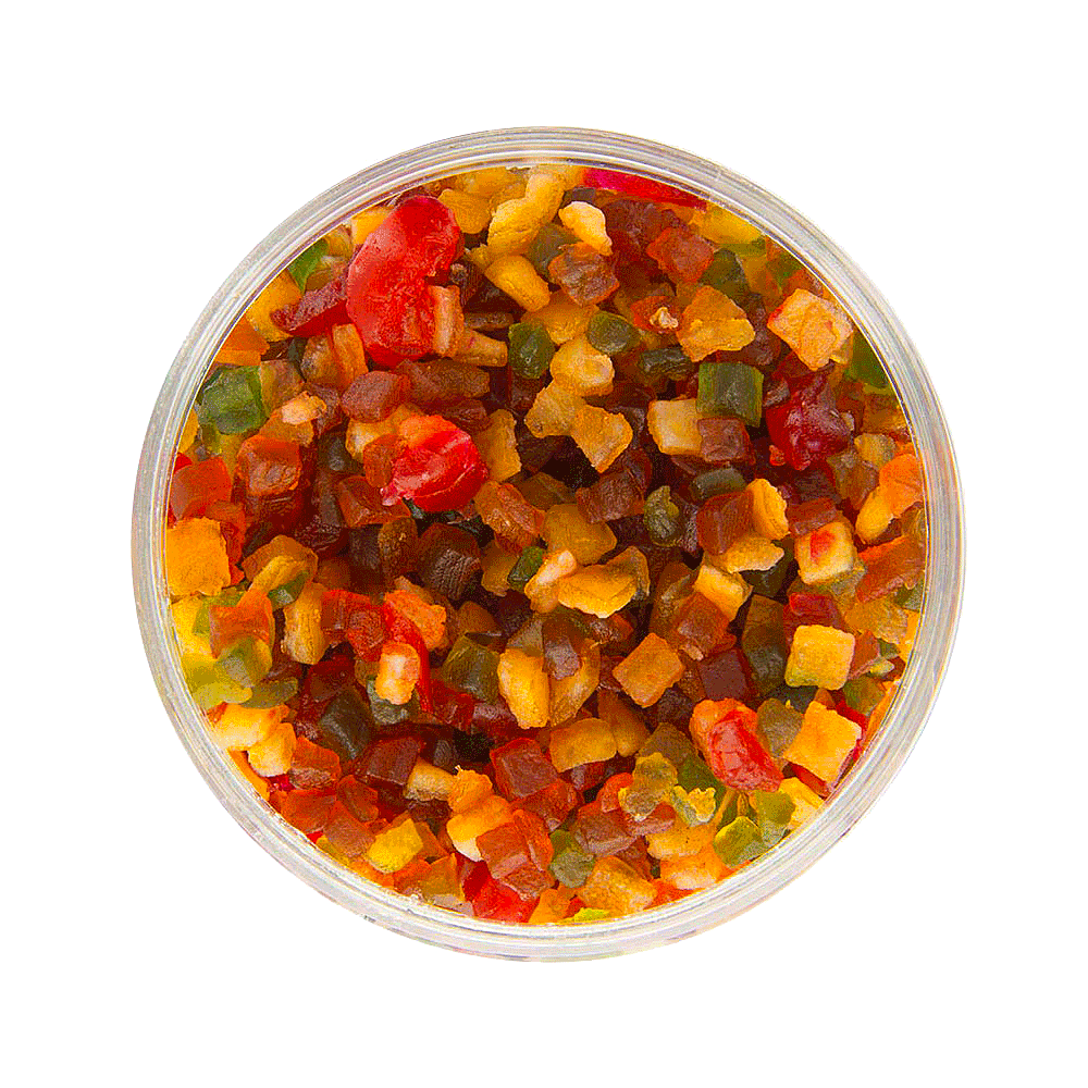 Mixed diced candied fruit - Home baking kit