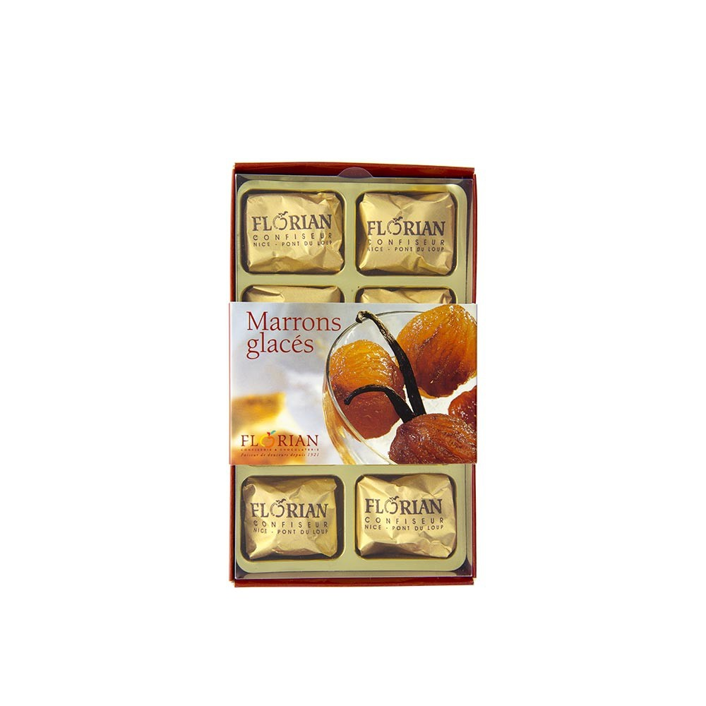 Candied chestnuts 8 pieces giftbox