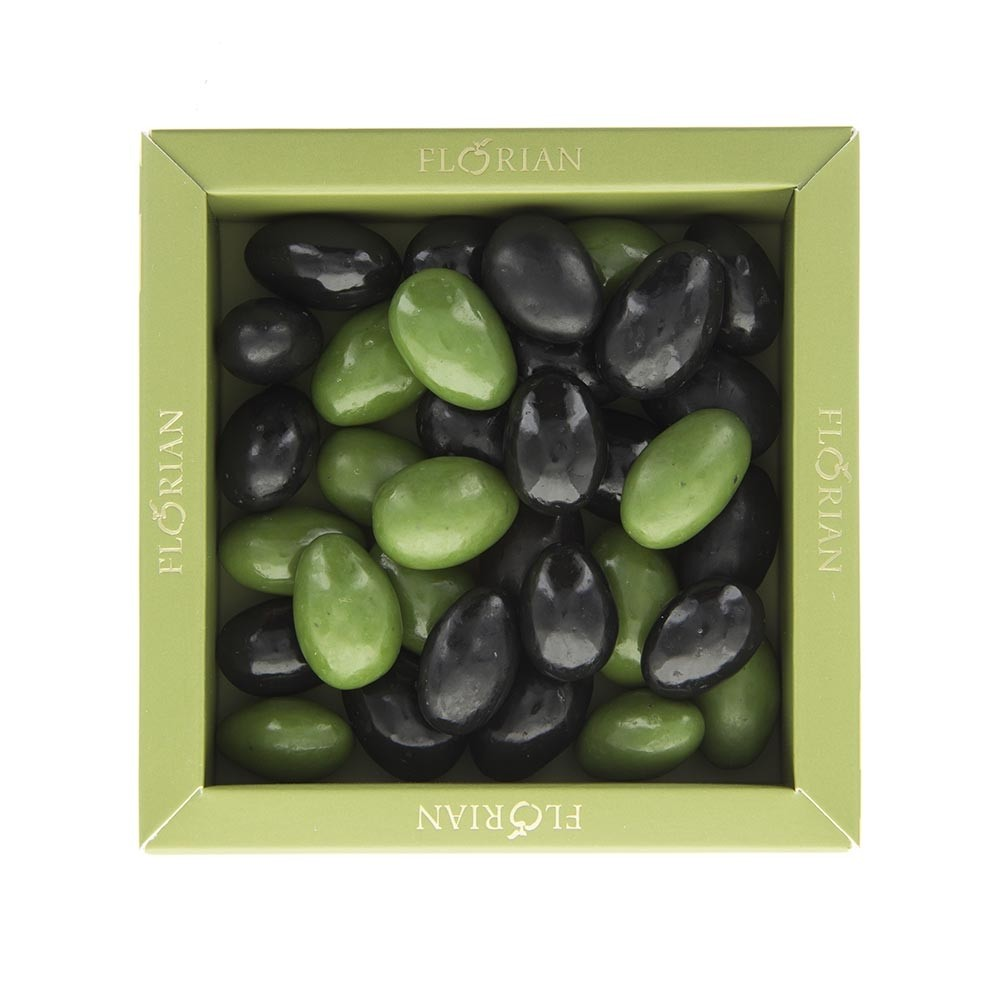 Chocolate olives 140g giftbox