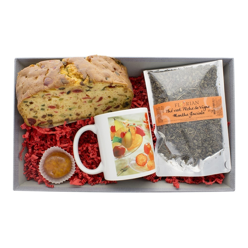 Time for a cup of tea gift basket