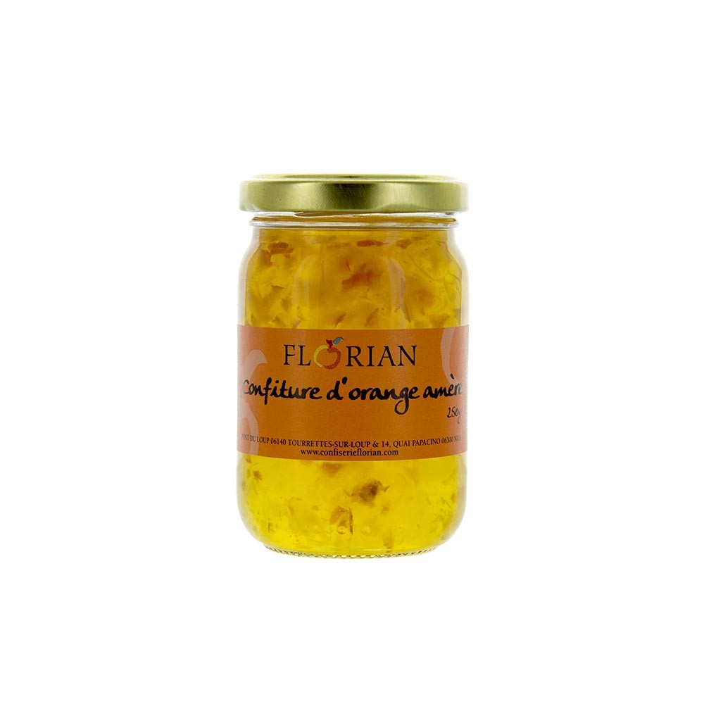 Confiture d'orange amère - Pot en verre 250g