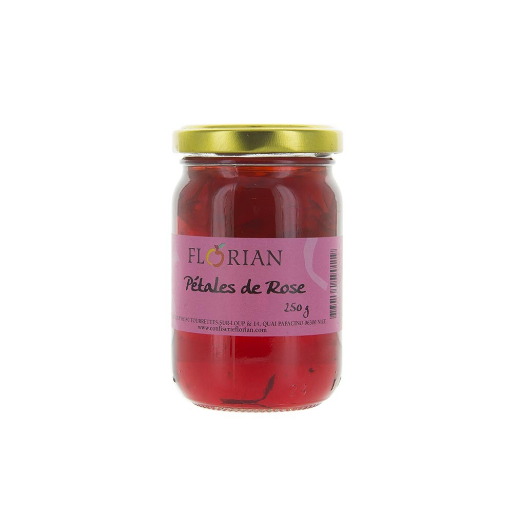 Rose petal preserve - 250g glass jar