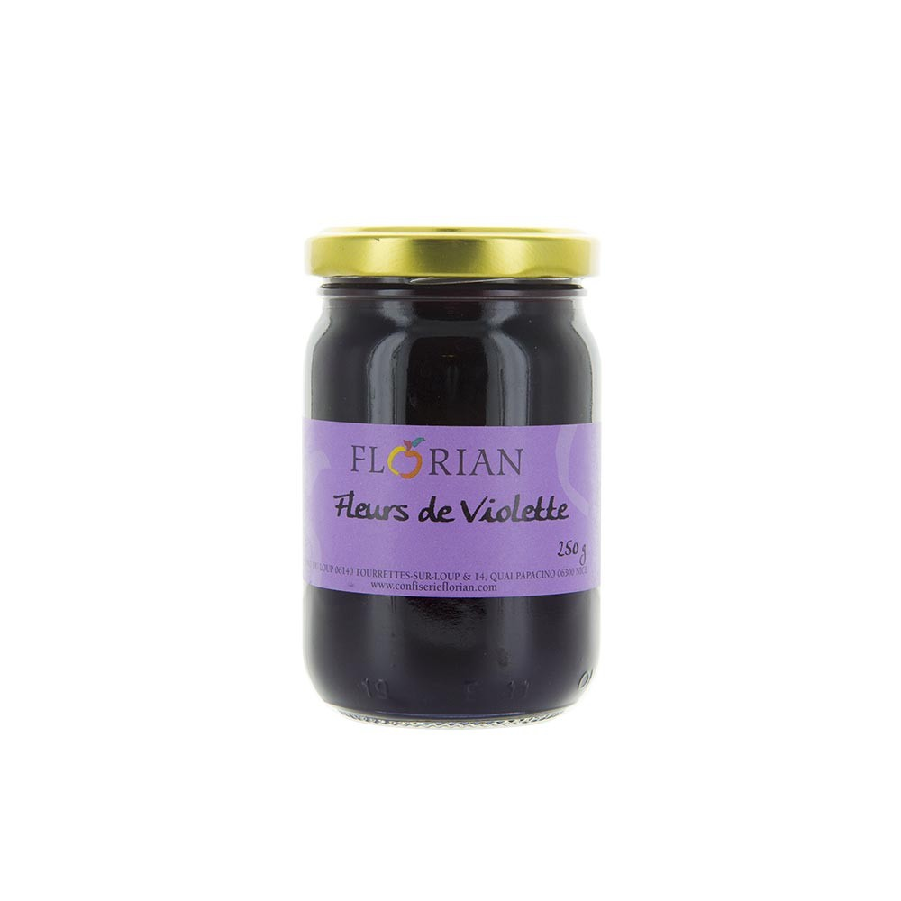 Violet preserve - 250g glass jar