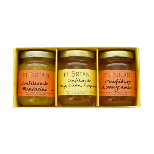 The citrus collection : set of 3 jams